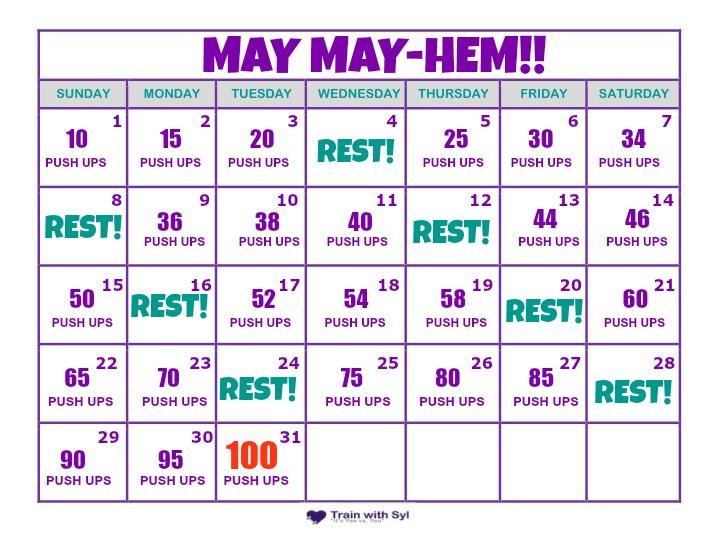 Pushup Calendar