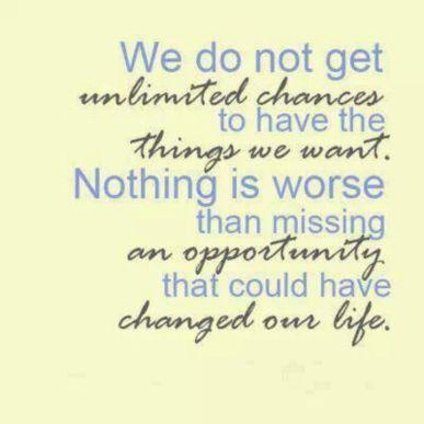 unlimited chances